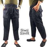 Celana Sirwal Slim Fit / Pangsi / cingkrang / laa isbal Panjang -SFT