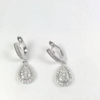 Anting Berlian Pear shape 01