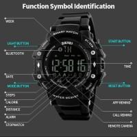 Harga jam tangan pria sport smart watch skmei 1226 pedometer | Pembandingharga.com