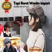 TOPI BARET KOREAN STYLE IMPORT UNTUK PRIA / WANITA