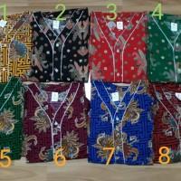 stelan piyama baju tidur batik bagan uk M panjang