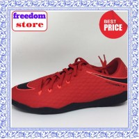 Sepatu Nike / Sepatu futsal nike Hypervenom phelon X IC red black