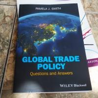 Buku Global Trade Policy - used - english - original