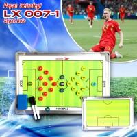 Papan Strategi Sepak Bola Futsal Football Coach Board Soccer 45cm 07-2
