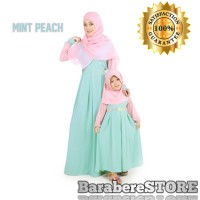 Gamis Couple Ibu Anak / Dress Ibu Anak