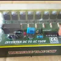 Kit Inverter Pengubah Tegangan Aki 12V/24V DC Menjadi 220V AC