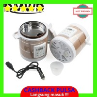 [BEST QUALITY] Dmwd 12 V 24 V Mini Rice Cooker Mobil Truk Sup Bubur