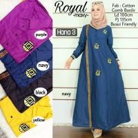 HN- ROYAL DRESS / MAXI DRESS CANTIK / DRESS MUSLIM