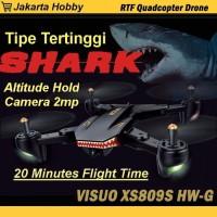 Drone Visuo Battle SHARK XS809S with 20minutes Flight