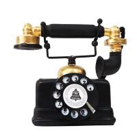 Trepon|pajangan hiasan meja telepon kado vintage shabby dekorasi bagus