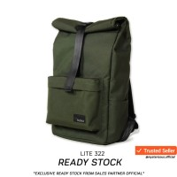 Tas Backpack By Nama Lite No.322 ARMY - Warranty Lifetime