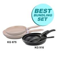 Kangaroo Best Bundling Set Frypan with Spatula Stylish