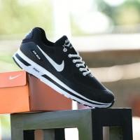 Sepatu Nike Airmax Zoom Warna Hitam Putih Casual Branded