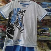Harga setelan baju tidur piyama anak cowok armani baju | antitipu.com
