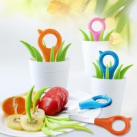 Fruit Picks Set Tusuk Bento / Pisau buah set unik dapur