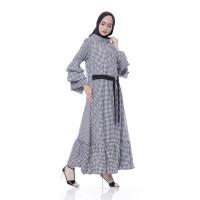 Gamis Katun Wanita   Luna Square Maxi   Gamis Muslim Kotak