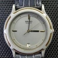 Jual jam tangan bekas SEIKO abu abu cantik Murah