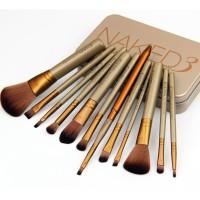 Brush / Kuas Make Up KALENG isi 12 pcs -naked brush