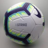 3eb76f660a Bola Soccer Nike Strike FA18 Ball White Blue SC3311-101 Original BNWT