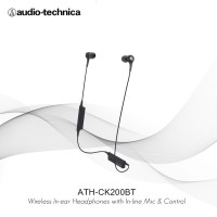 Audio-technica ATH-CK200BT Wireless In-ear Headphones