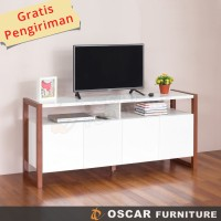 Oscar Furniture - Bufet TV Minimalis Seri Forte