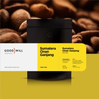 Kopi Arabica Blue Batak 200gr - Goodwill Coffee (Biji/Bubuk)