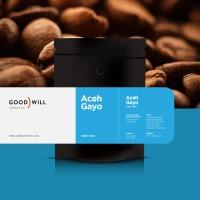 Kopi Arabica Aceh Gayo 200gr - Goodwill Coffee (Biji/Bubuk)
