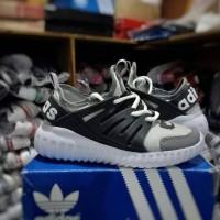sepatu anak sneakers adidas alphabounce cream abu terbaru