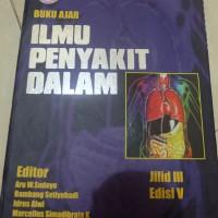 Ebook Buku Ajar Ilmu Penyakit Dalam