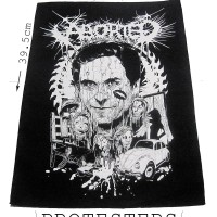 BACKPATCH BAND DEATH GRIND ABORTED