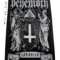 EXTREME METAL BACKPATCH BEHEMOTH