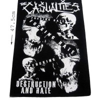 BACKPATCH PUNK THE CASUALTIES