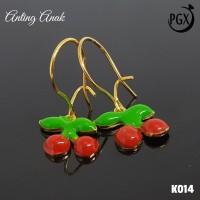 K014 Anting Anak Xuping Yaxiya - Perhiasan Lapis Emas 18K