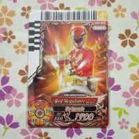 power ranger card battle bronze ranger red megaforce v2