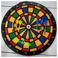 SAFETY DART GAME MAPPLE 46 CM / PAPAN DART GAME PREMIUM