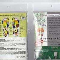 Koyo herbal Kaki Bamboo Foot Patch Detox Premium ASLI DIJAMIN