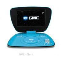 "Portable Dvd Player GMC LED 7"" Slim DIVX-808 R-Tv-Game"