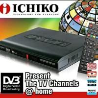 Decoder Tuner Penerima TV Didital DVB T2 Ichiko