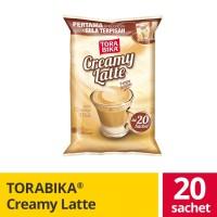 Torabika Creamy Latte Bag 20 Sachet @ 25 Gr