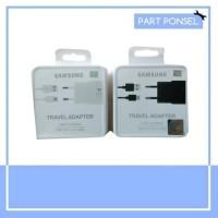 Charger Samsung S8 / S8+Original 100% Fast Charging Type C hitam/putih