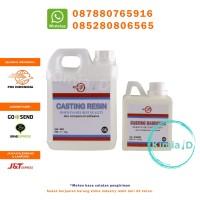 Epoxy Resin Bening (Casting Resin) (Keras) (Import) 2KG RESIN BENING