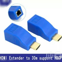 HDMI Extender Over Cat5e CAT6 Ethernet Adapter 4K 1080P -up To 30m
