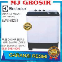 MESIN CUCI ELECTROLUX EWS98261 WA 8KG 2 TABUNG 98261 9 KG GERMAN TECH