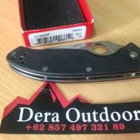 SPYDERCO TENACIOUS Folding Knife - Dera Outdoor - Pisau Lipat bkn l