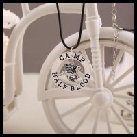 HOT SALE Camp Half Blood & Blackjack Pegasus Necklace / Kalung Percy