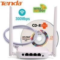 Repeater Klient WISP Hotspot Tenda N301 upto 500 Meter Terbaik