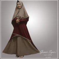 dress muslim wanita/gamis syar'i kombinasi