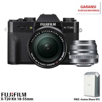 Harga fujifilm xt20 mirrorless digital camera with 1855mm xf 35mm | Pembandingharga.com
