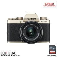 Harga fujifilm xt100 mirrorless digital camera with 1545mm xf 50mm | Pembandingharga.com