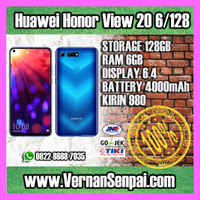 Huawei Honor View 20 6GB / 128GB Kirin 980 Adiknya Mate 20 V20 PRO